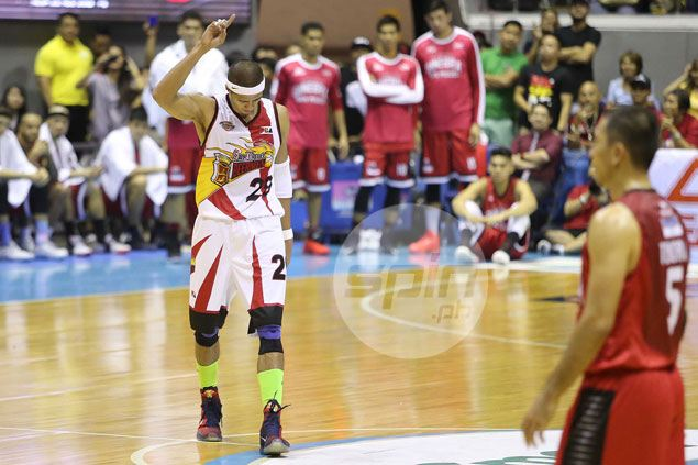 Arwind Santos knows SMB can turn to defense amid offensive off night, especially from Fajardo