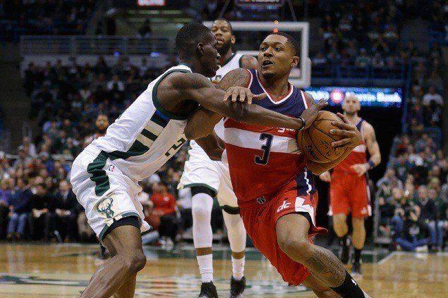 Wizards shake off slow start to beat Bucks squad missing Giannis Antetokounmpo