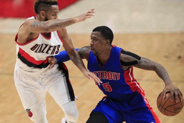 Caldwell-Pope drills back-to-back triples to cap Pistons comeback over Blazers in double OT