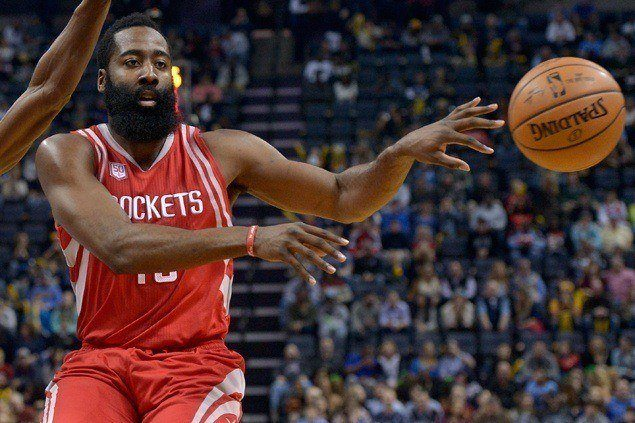 Harden posts another triple-double as Rockets stretch streak to eight and deal Raptors second loss in a row