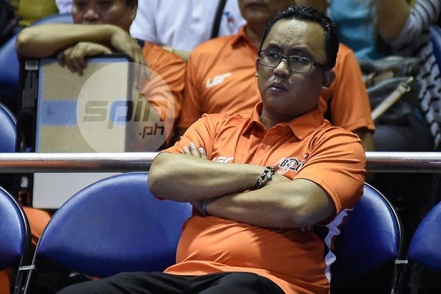 NU coach Jamike Jarin 'always grateful' to MVP group as he rounds out Meralco stint