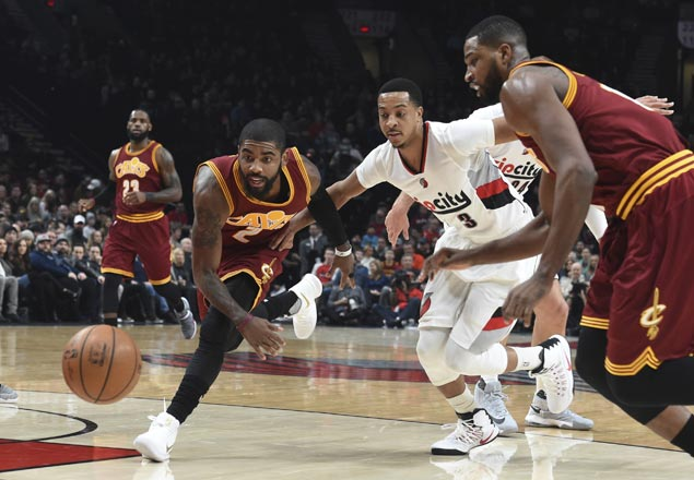 Blazers take control early and send cold-shooting Cavaliers to second straight loss