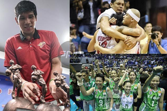 Ginebra, DLSU Lady Spikers, June Mar Fajardo top picks for first SPIN.ph's Reader's Choice award