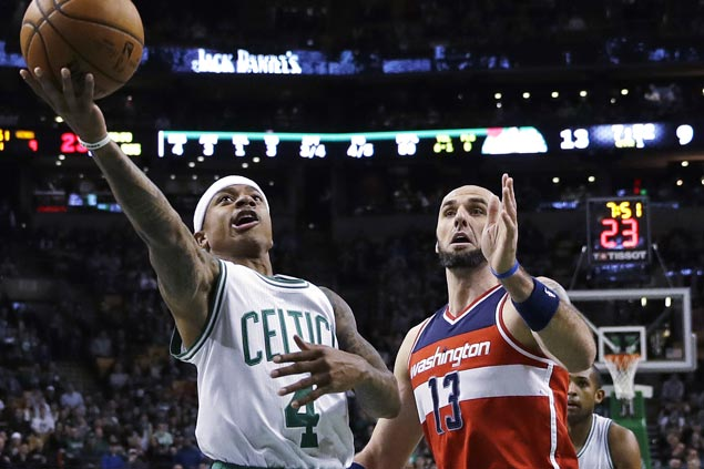 Isaiah Thomas leads fourth quarter surge as Celtics get back on track with win over Wizards