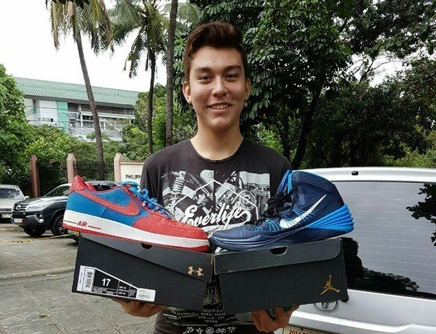 Giant with a big heart: Fajardo gifts Fil-Aussie prospect Ethan Kirkness with Size 17 shoes