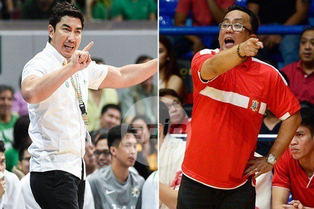 Aldin Ayo, Jamike Jarin share Coach of the Year honor in Collegiate Basketball Awards