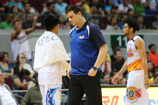 Caloy Garcia explains James Yap's limited minutes, says he opted for faster lineup