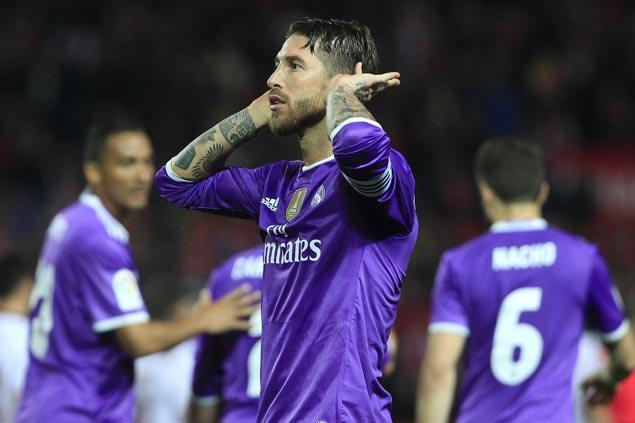 Real Madrid salvages draw against Sevilla in Copa del Rey to set Spanish record of 40 unbeaten games
