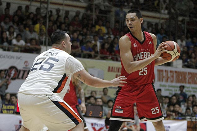 Barangay Ginebra reasserts mastery of Meralco with big win in Iloilo