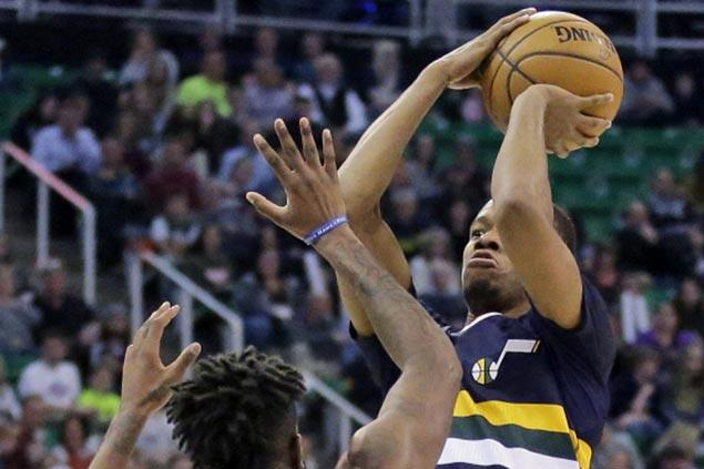 Utah Jazz hit 16 three-pointers in 33-point rout of Detroit Pistons