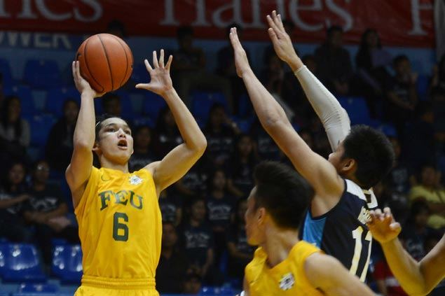 FEU Baby Tams blow 11-point lead late but recover in time to end Adamson's win run at seven