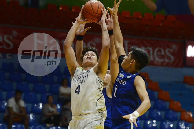 NU Bullpups find spark in the third to buck lackluster start and take down Ateneo Blue Eaglets