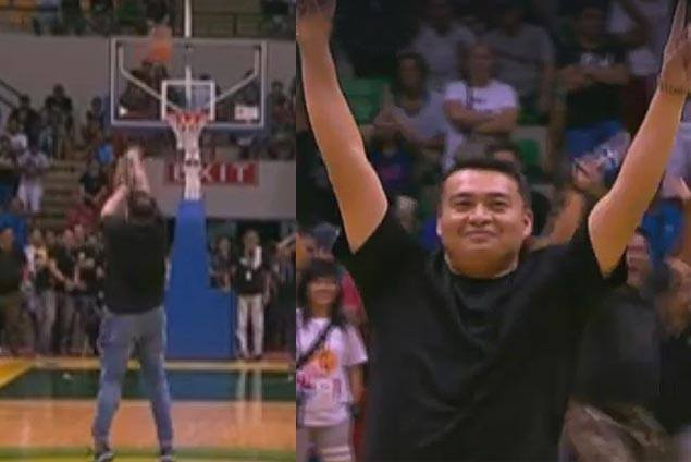 To people who know him, Binan vice mayor's halfcourt shot wasn't much of a surprise