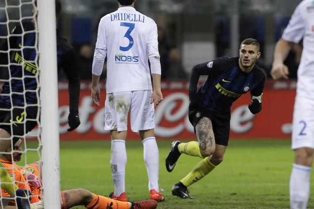 Mauro Icardi delivers again for Inter, insists he is not about to move to Chinese league