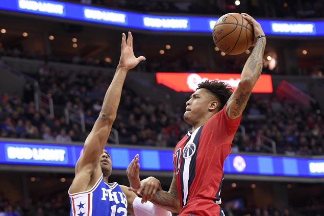 Wizards shake off sluggish start to beat Joel Embiid-less Sixers
