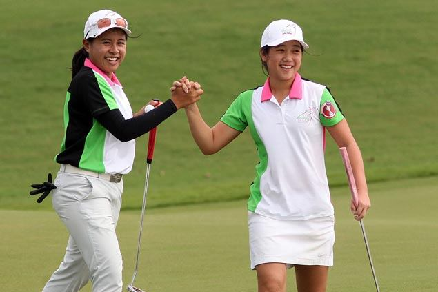 Team SEA carries six-point lead into final day singles against Filipinas in Pradera Challenge
