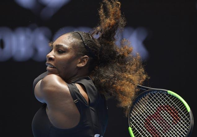 Serena Williams begins bid for 23rd grand slam title with quick win over Belinda Bencic