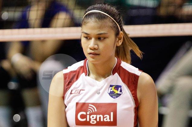 Mela Tunay signs contract to play for Petron in PSL Invitational
