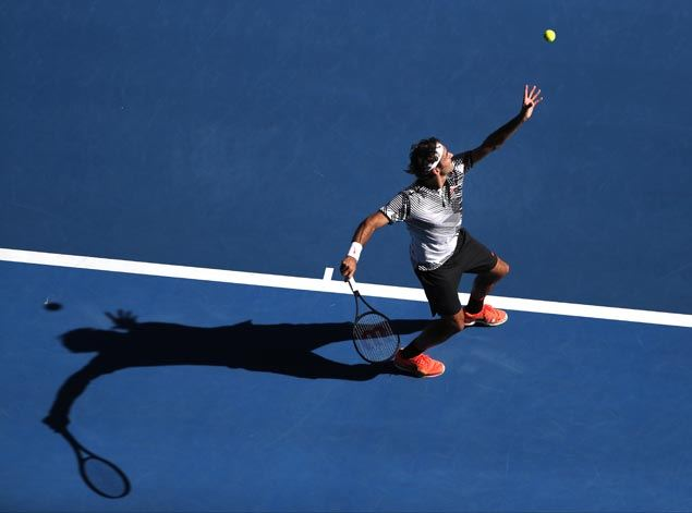 Road gets tougher for Roger Federer after disposing of two qualifiers in Melbourne