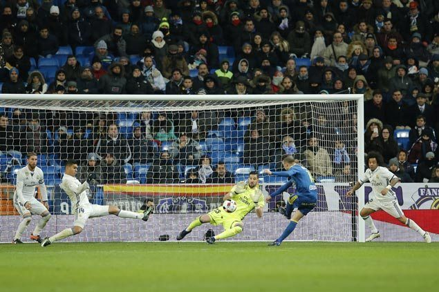 Celta Vigo stuns Real Madrid in first leg of Copa del Rey quarterfinals