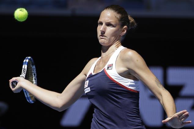 In-form Karolina Pliskova cruises past Anna Blinkova to gain third round in Melbourne