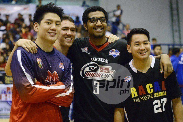Former La Salle teammates Jeron Teng, Jason Perkins face off as AMA takes on Cignal