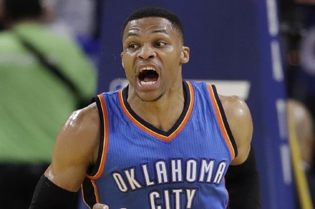 Did KD, Westbrook really talk? OKC star in denial, vows payback for Pachulia taunt