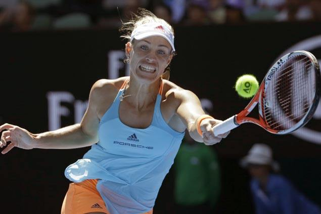 Angelique Kerber asserts mastery over Kristyna Pliskova to reach fourth round in Melbourne