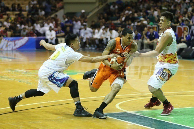 Chris Newsome just glad to have 'monkey off our backs' after Meralco snaps six-game skid