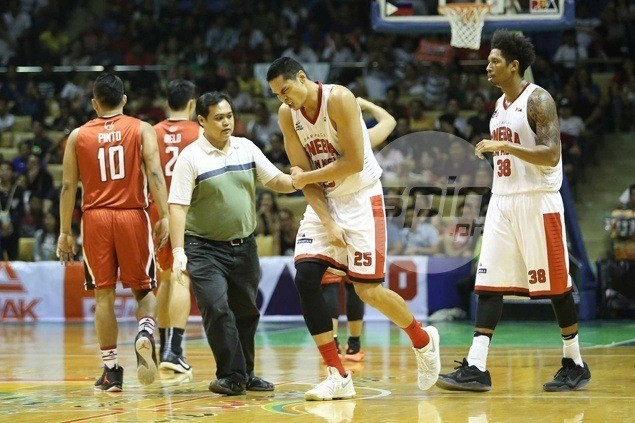 Cone dreads thought of losing Aguilar for Phoenix game, but big man quick to reassure fans