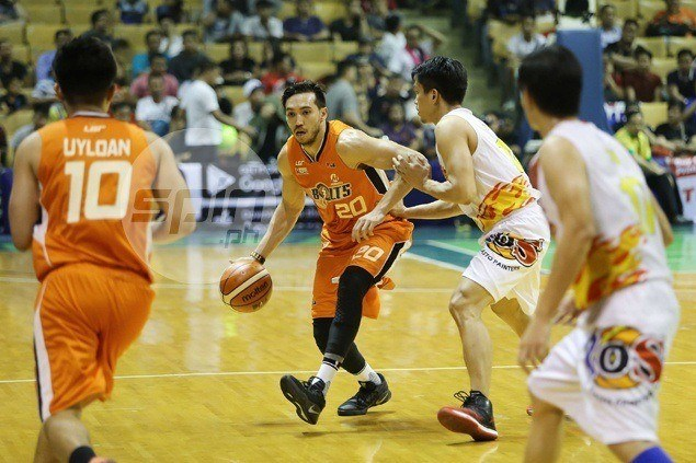 Jared Dillinger not yet fully fit, but presence alone enough to lift spirits of Meralco