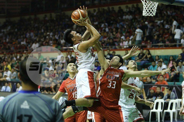Ginebra holds off Blackwater as Scottie Thompson takes over after Aguilar injury