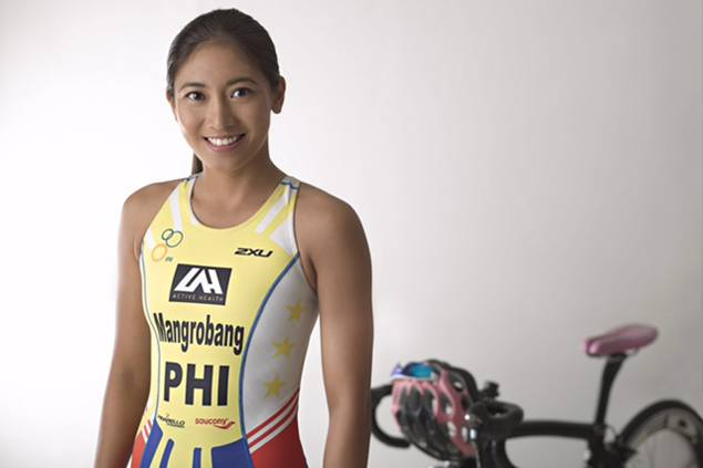 'Normal life' can wait as top triathlete Kim Mangrobang steps up pursuit of Olympic dream