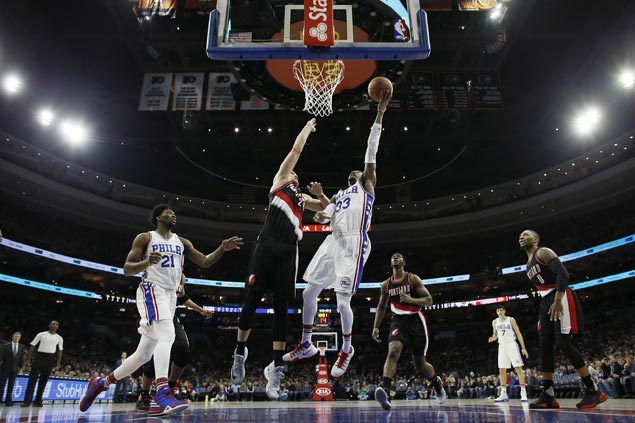 Covington hits game-winning triple as Sixers stretch streak to three with squeaker over skidding Blazers