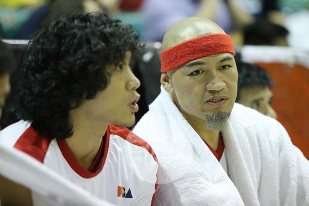 What's with Mark Caguioa's gray goatee? Pal Herterbrand gives hilarious explanation