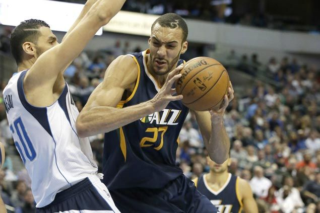 Rudy Gobert caps career game with clutch heroics as surging Jazz outlast Mavs in OT