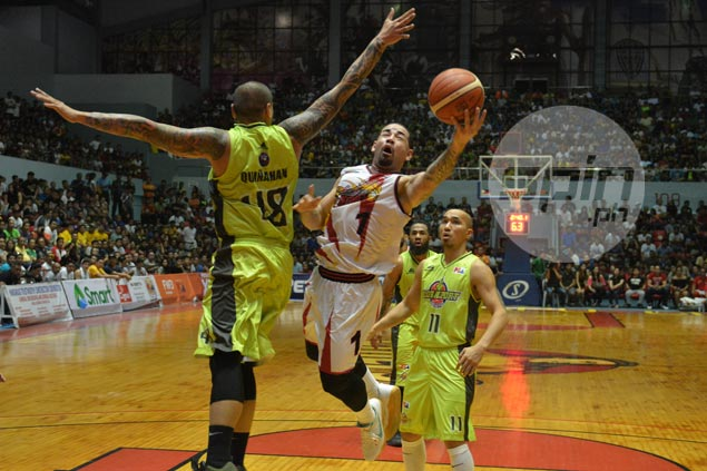 Brian Heruela draws inspiration from Cebu crowd, makes most of rare start for star-studded SMB