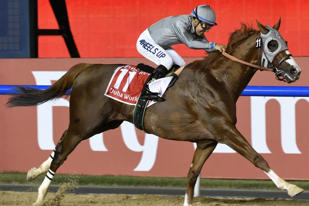 California Chrome looks for fitting career finale as favorite to win $12M Pegasus World Cup