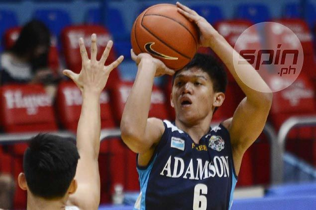 Adamson Baby Falcons rip UST as Encho Serrano sits out amid eligibility row