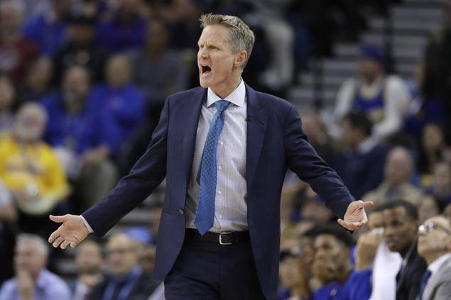 Steve Kerr calls out players' odd choices in making 'mockery' of All-Star voting