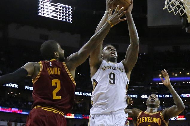 Anthony Davis-less Pelicans spoil Kyrie's 49-point game, LeBron's triple-double in upset vs Cavs