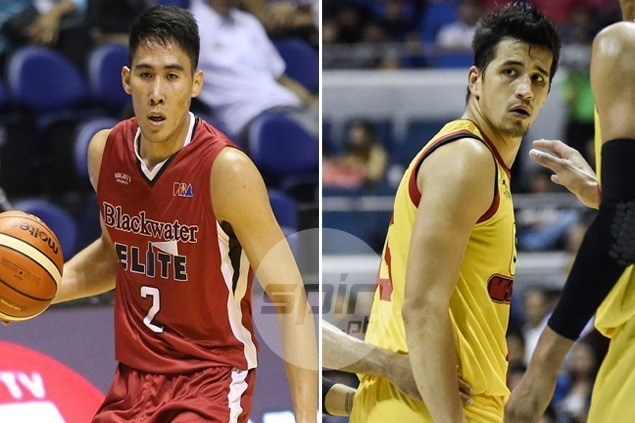 Marc Pingris eager to go toe-to-toe with Gilas 'heir apparent' Mac Belo