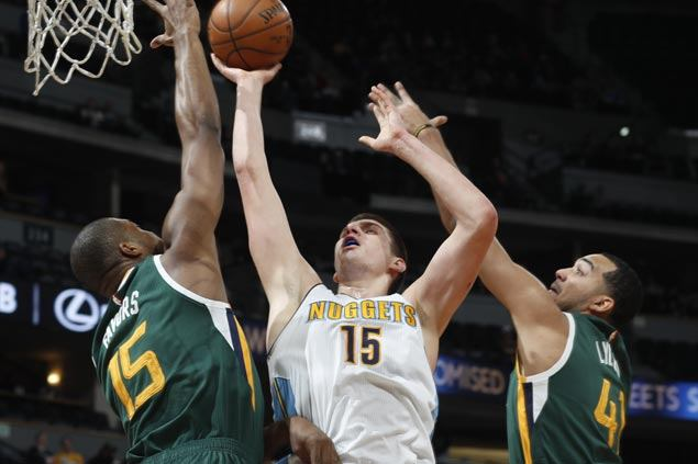 Nikola Jokic, Jameer Nelson come up clutch as Nuggets douse Jazz's late rally