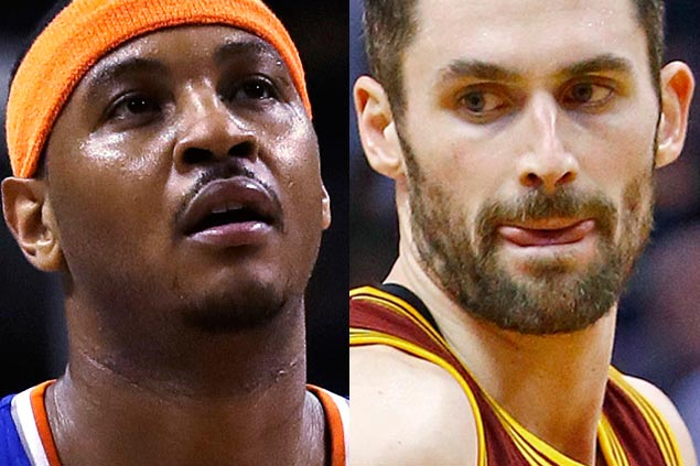 Cavaliers turn down Knicks trade proposal of Carmelo Anthony for Kevin Love, say reports