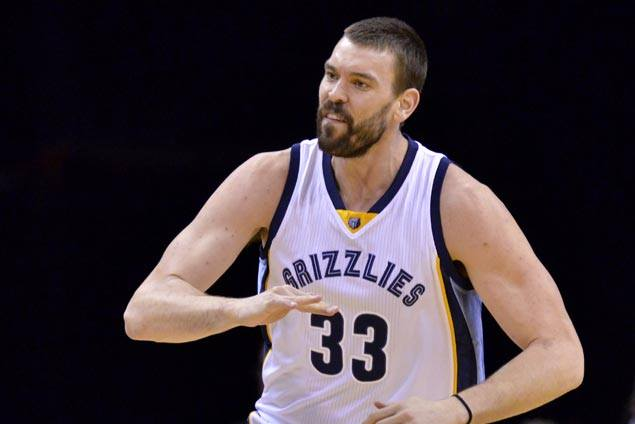 Marc Gasol scores career-high 42 as Grizzlies foil late rally by slumping Raptors