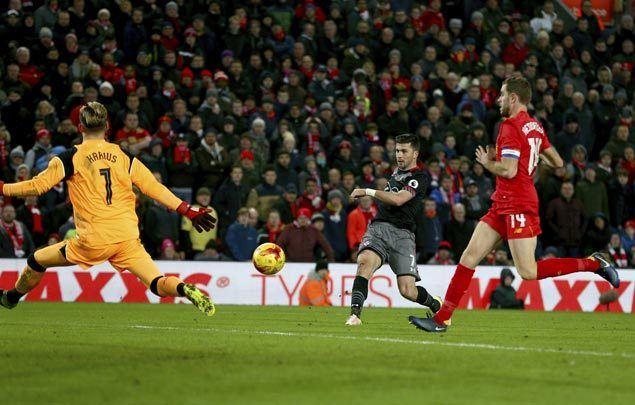 Southampton eliminates Liverpool, reaches League Cup final