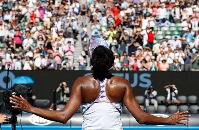 Venus, Serena arrange all-Williams final on Throwback Thursday at Aussie Open