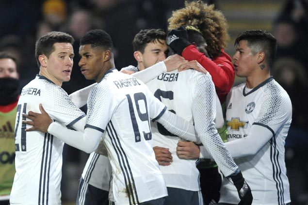Hull pulls off win but Manchester United does just enough to reach League Cup final