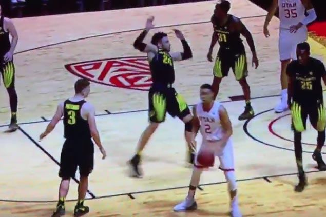WATCH: Oregon's Dillon Brooks makes case for worst flop ever title