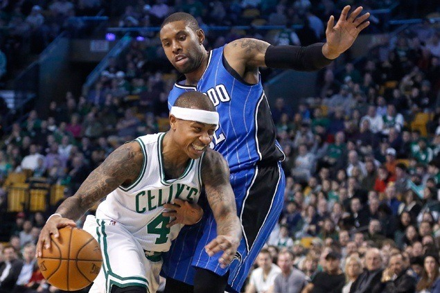 Isaiah Thomas continues scoring surge as Celtics beat Magic by 30